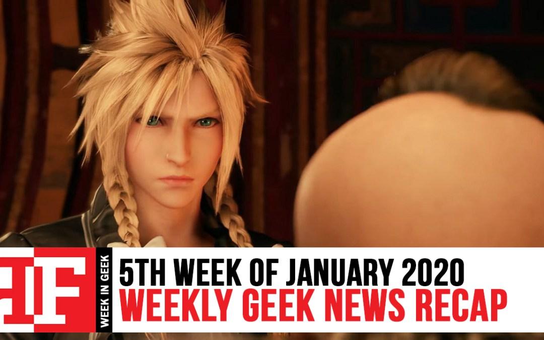 Week in Geek: Week 5 – January 2020