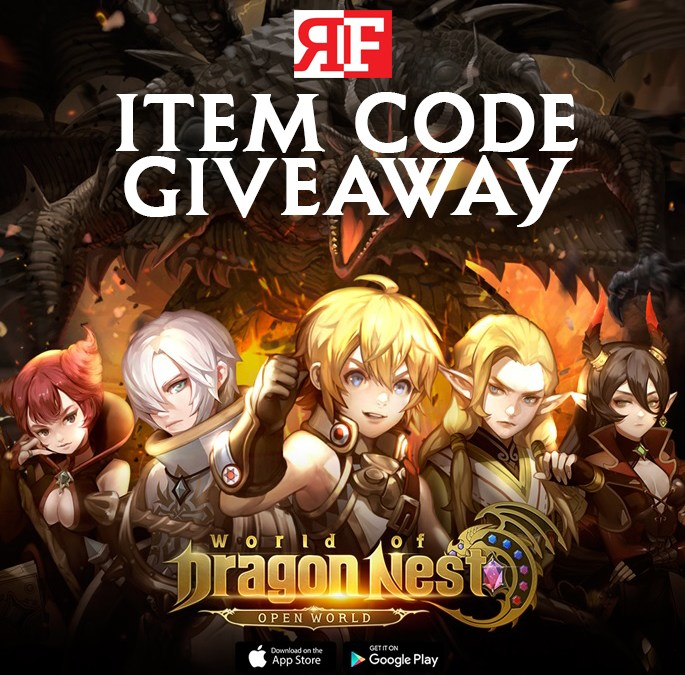 World of Dragon Nest Item Code Giveaway