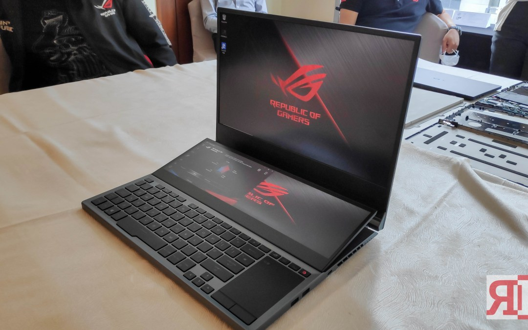 ASUS Republic of Gamers Announces Zephyrus Duo 15