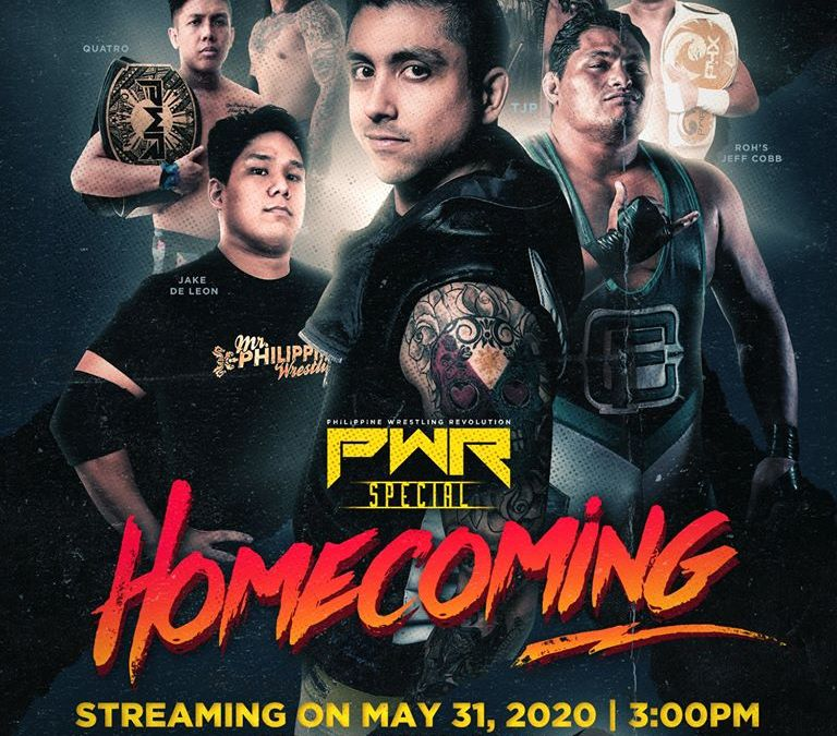 You can Watch the 2019 PWR: Homecoming on Online Pay-per-View