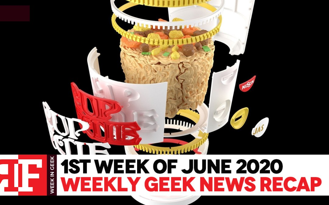 Week in Geek: Week 1 – June 2020
