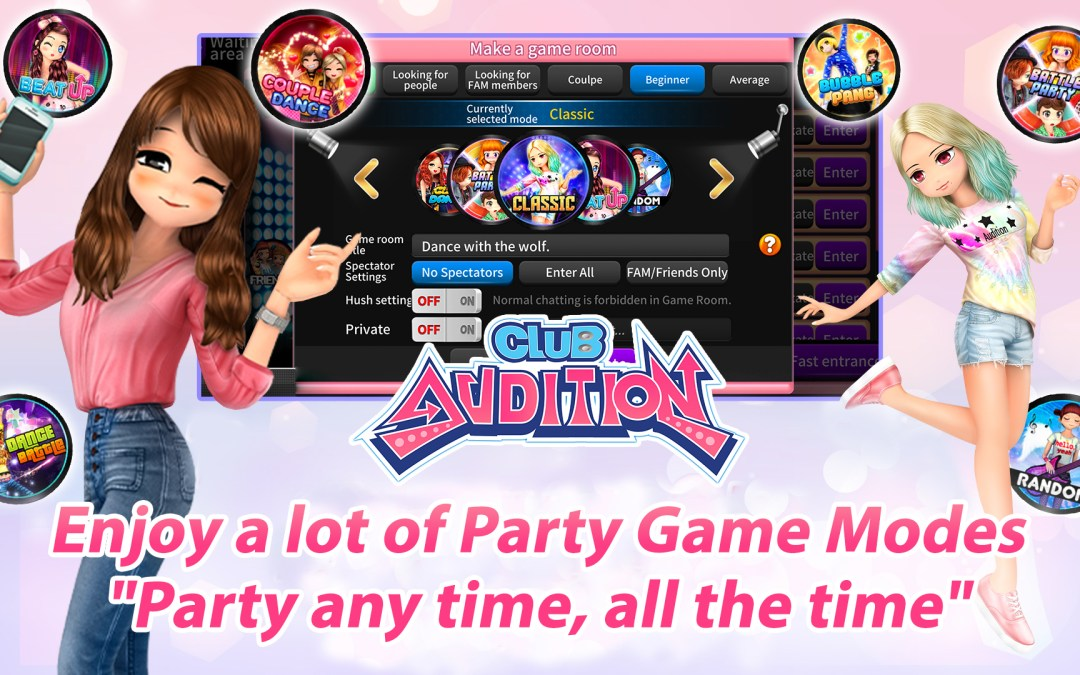 Club Audition Mobile is Now Available
