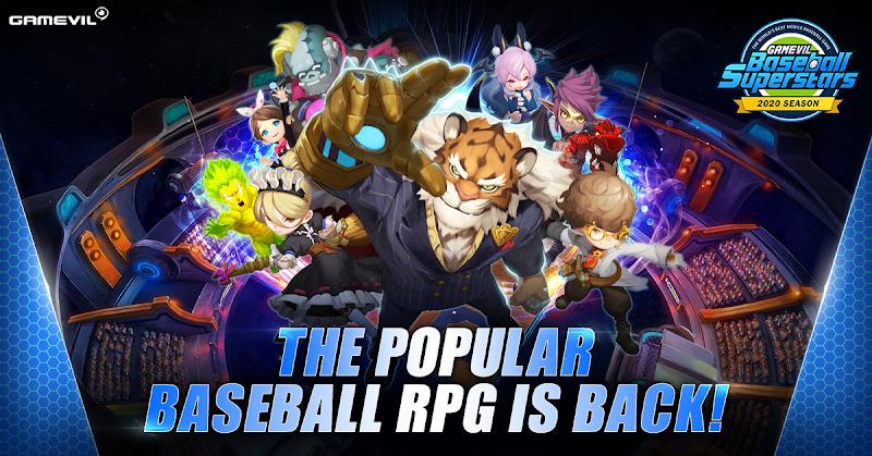 Baseball Superstars 2020 Fantasy Sports RPG Grand Slams onto Google Play and Apple App Store