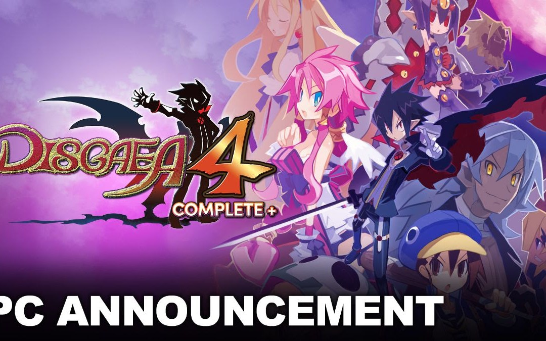Disgaea 4 Complete+ is coming to PC