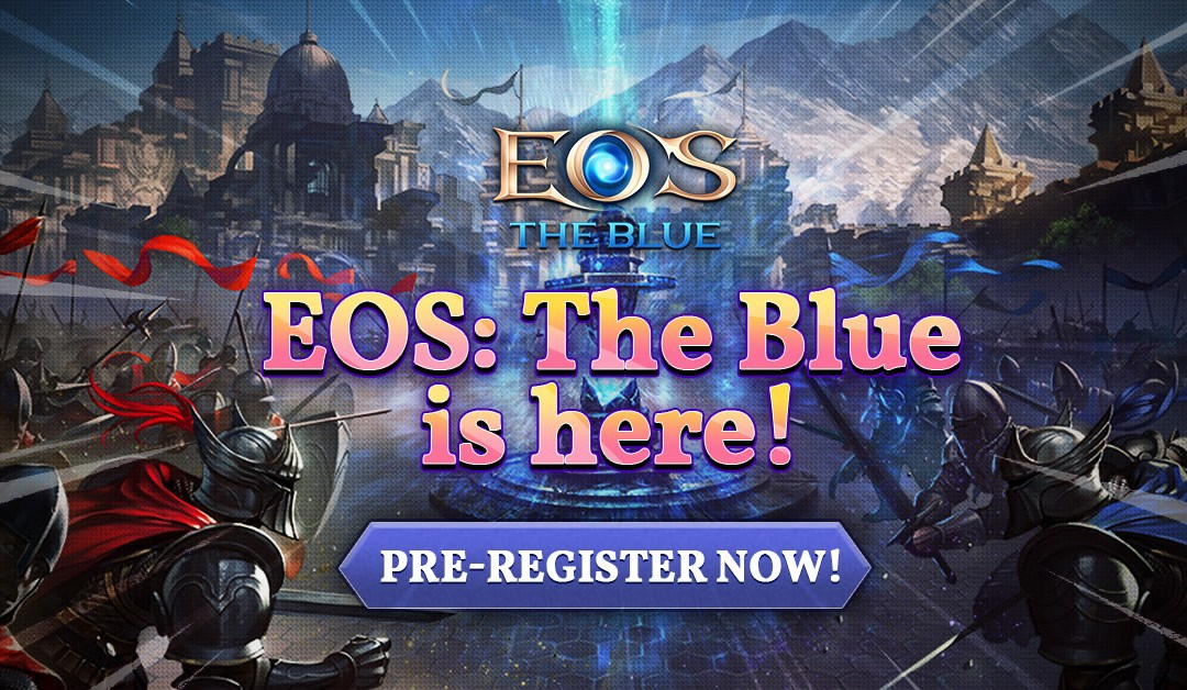 EOS: The Blue Starts its Pre-registration