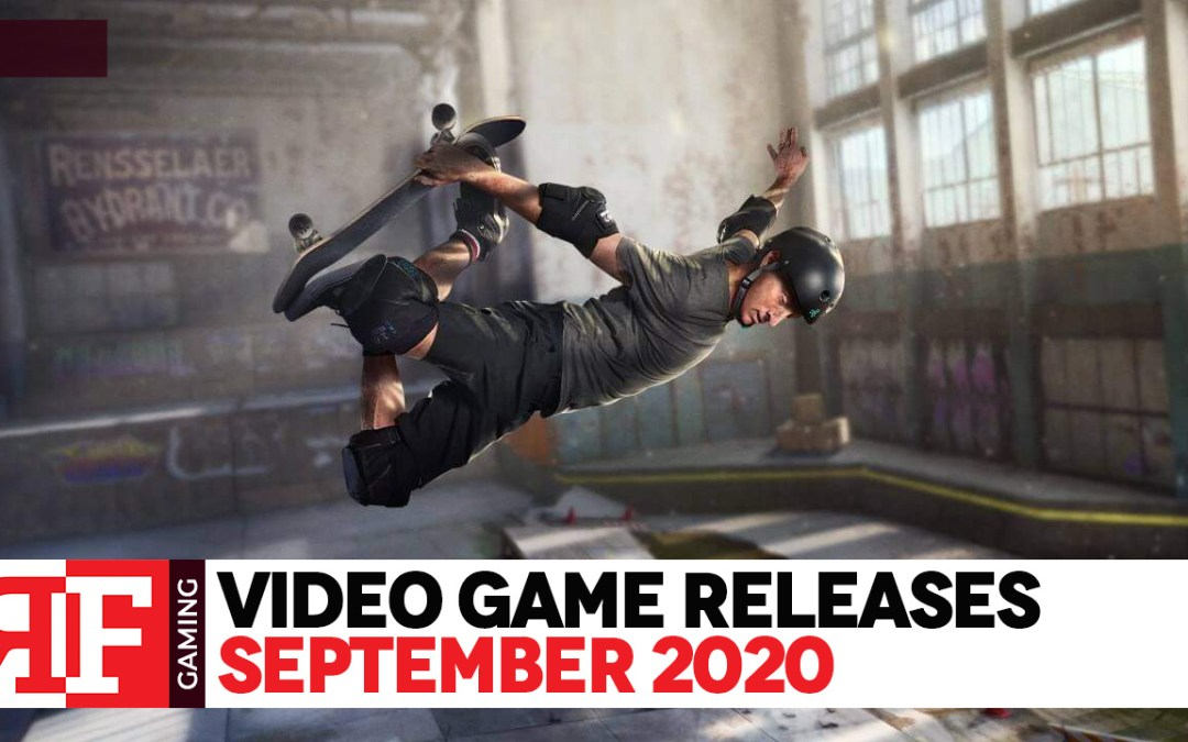 Video Game Releases: September 2020