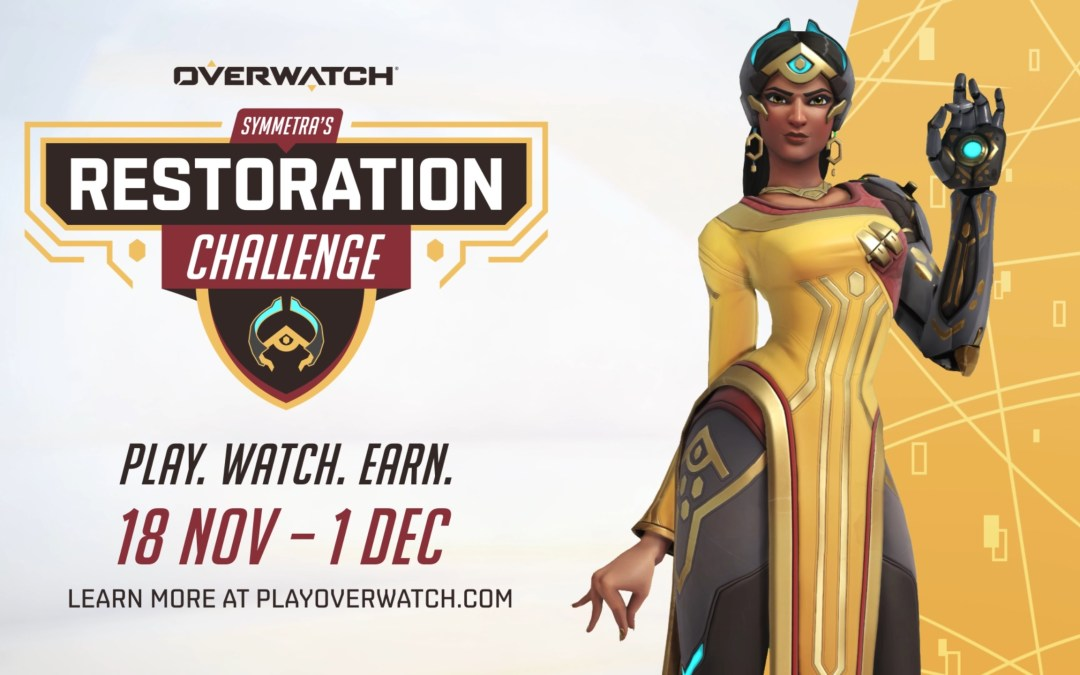 Overwatch Symmetra's Restoration Challenge and New Short Story Now Live