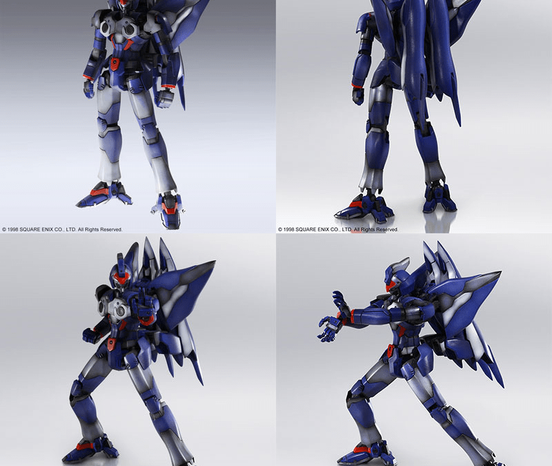 More Square Enix Mecha Model Kits with Xenogears