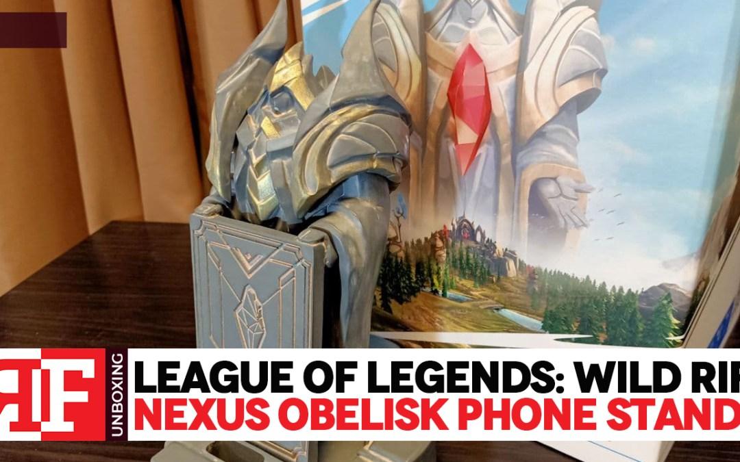 League of Legends: Wild Rift Nexus Obelisk Stand Unboxing