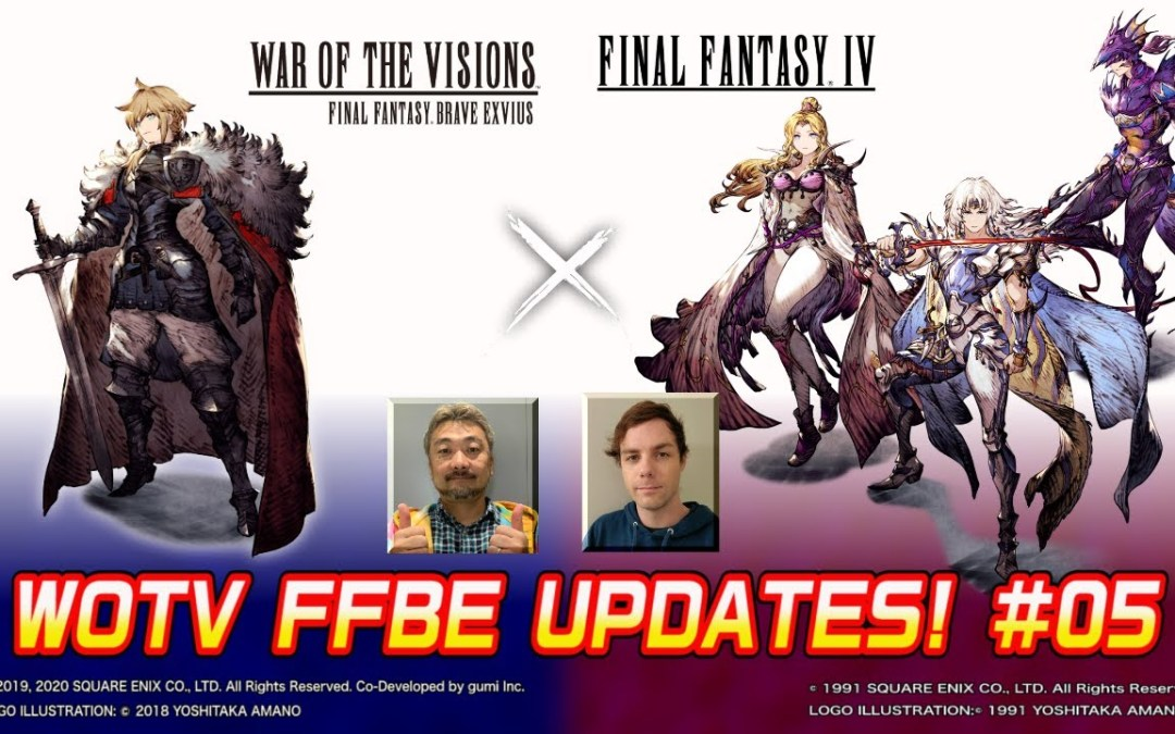 War of the Visions Final Fantasy Brave Exvius Reveals Final Fantasy IV Collaboration
