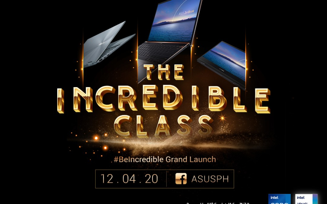 Get Ready to #BeIncredible with the All-New Intel Powered Asus Zenbook Series