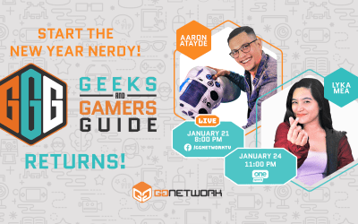 Geeks and Gamers Guide Show Returns this Thursday