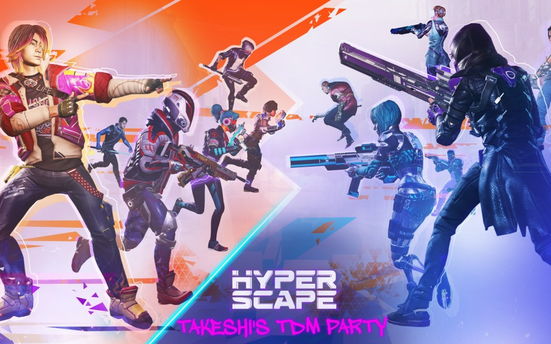 Hyper Scape Invites You to Takeshi's Team Deathmatch Party with New PC Crossplay