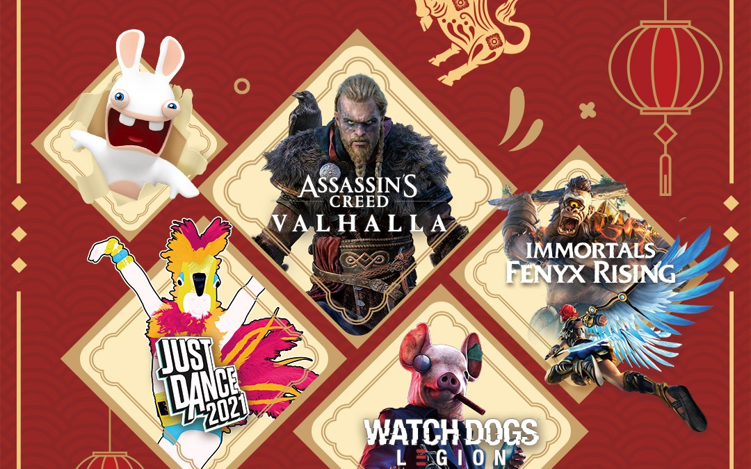 Ubisoft's Lunar New Year Sale Starts Now until February 17