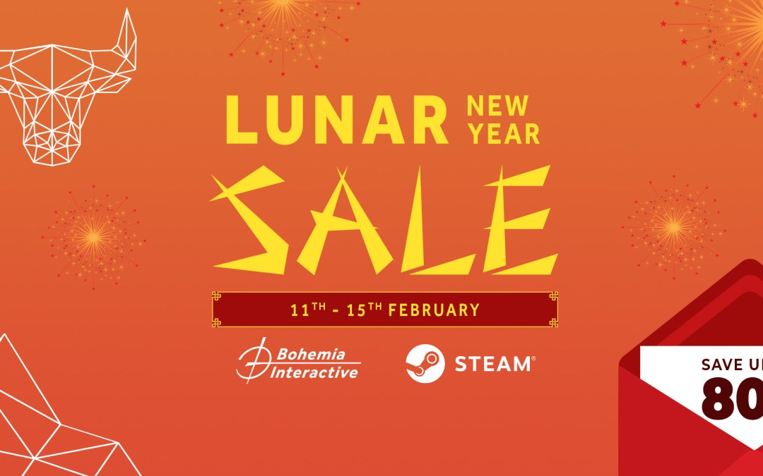 Bohemia's Games for up to 80% off During Steam Lunar New Year Sale