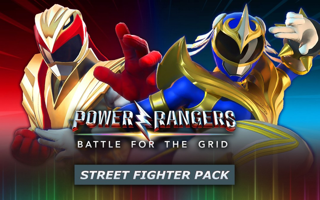 Street Fighter's Ryu and Chun-Li Heading to Power Rangers: Battle for the Grid In Upcoming Street Fighter Pack