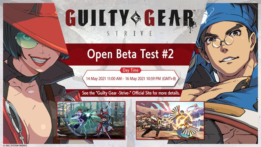 Guilty Gear -Strive- 2nd Open Beta Test #2 will be held This May in Southeast Asia