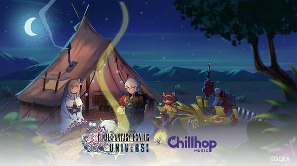 Final Fantasy Brave Exvius Games Getting Chillhop In-Game Collaboration
