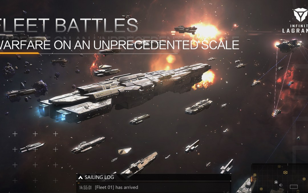 Most Anticipated Space Cross-Platform Game of the Year Infinite Lagrange Launches Today in Americas