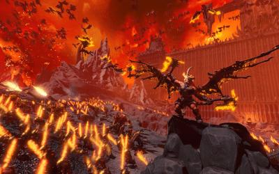 Enter The World of Khorne in Total War: Warhammer III