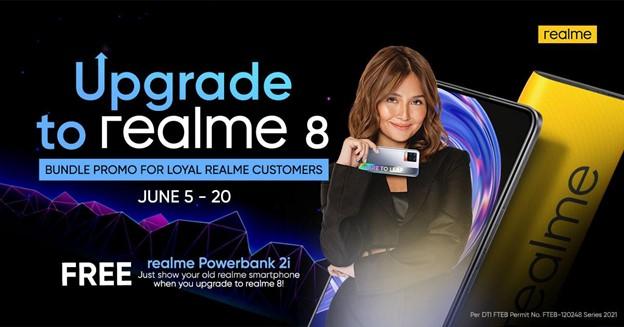 realme rolls out 'Upgrade to realme 8' bundle promo