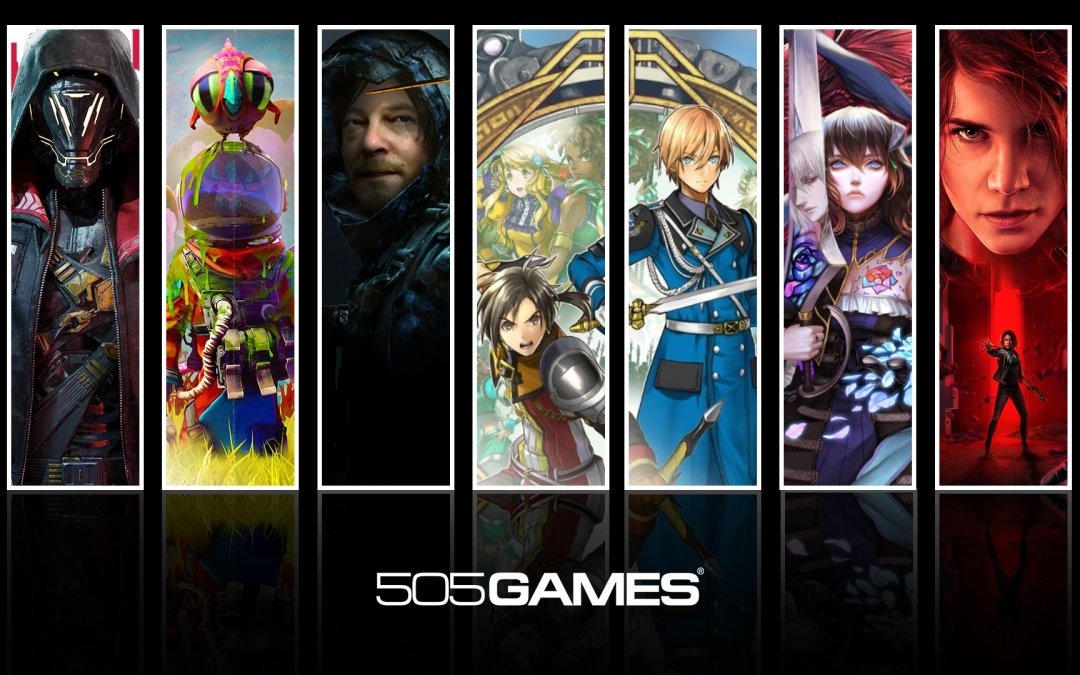 505 Games Partners with Gamescom to Reveal Their Upcoming Games