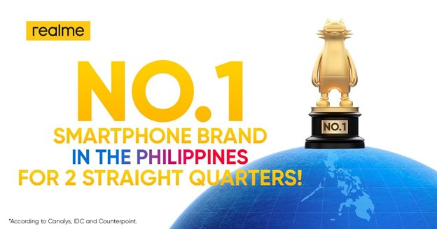 realme Retains No. 1 Spot in the Philippines for 2nd Quarter 2021