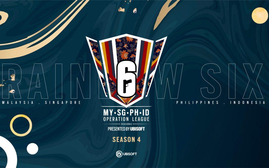 Rainbow Six Operation League MY/SG/PH/ID Season 4 is back