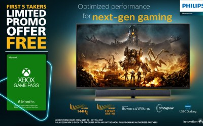 Celebrate the Launch of Philips Momentum Designed for Xbox with Free Xbox Game Pass
