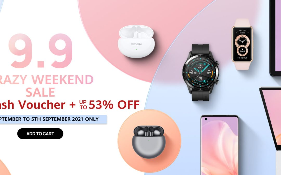 Great deals for Huawei gadgets this 9.9 Sale
