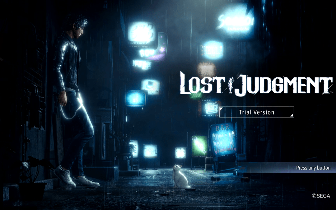 Lost Judgment Demo is Now Available at the PlayStation Store