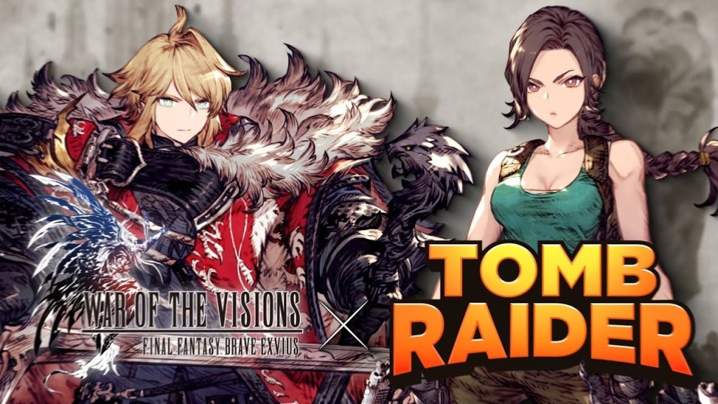 War of the Visions Final Fantasy Brave Exvius Celebrates 25 Years of Tomb Raider with a Collaboration Event