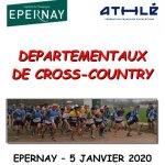 05 janvier 2020 – Championnats de la Marne de cross