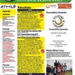 Newsletter du 14 janvier 2020