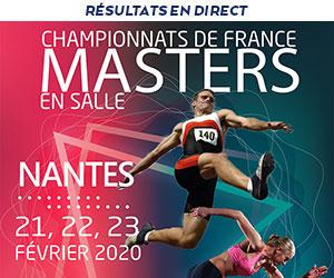 21-23 février 2020 – Championnats de France masters