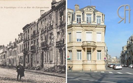 La rue de l'Arquebuse en 1919