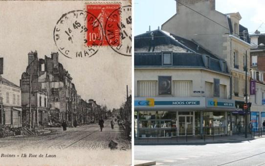 L'avenue de Laon vers Saint-Thomas