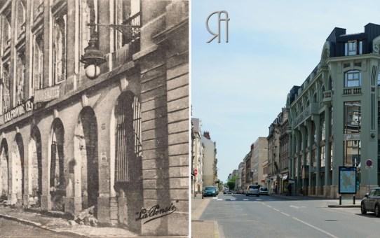 La rue Cérès depuis la place Royale