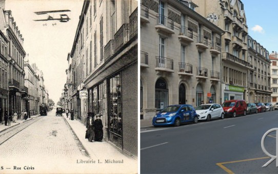 Rue Cérès - Grande Semaine d'Aviation