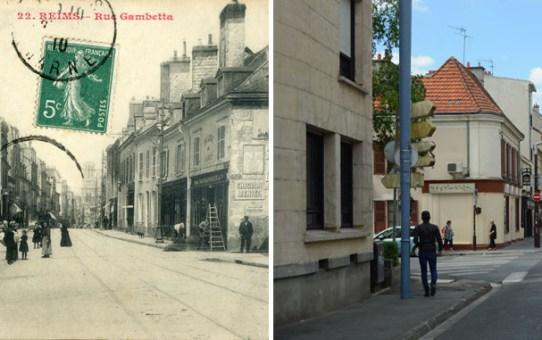 "Angle des rues Gambetta et des Carmes : ""A la Petite Raymonde"""