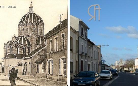 La rue de Louvois et l'église Sainte Clotilde