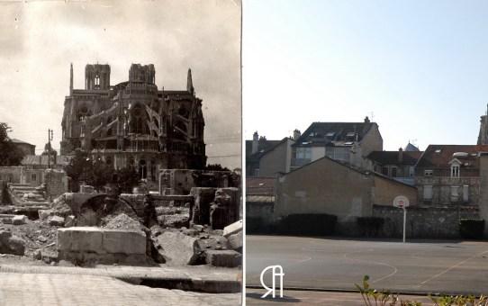 Les ruines de la rue Saint-Symphorien