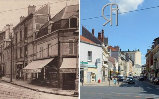 Les Tramways rue Émile-Zola