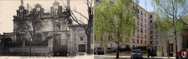 Boulevard Lundy, l'hôtel de M. Raoul de Bary