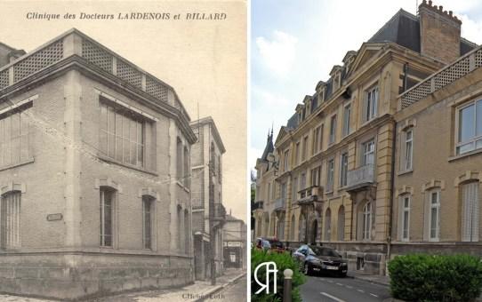 Clinique des Docteurs Lardenois et Billard, rue Kellermann