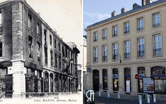 Place des Marchés, angle de la rue Trudaine