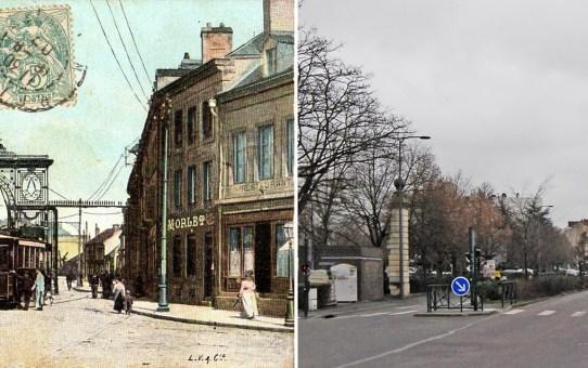 La porte de Paris avant la Grande Guerre