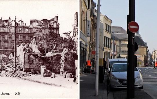 Rue Chanzy pendant la Grande Guerre