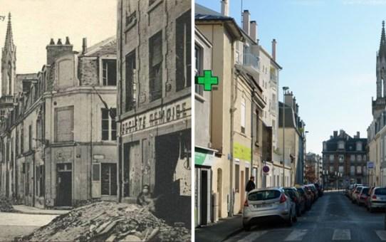 Rue Paul-Vaillant-Couturier ancienne rue de Cormicy