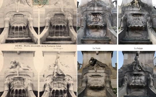 Les quatre rivières de la Fontaine Subé